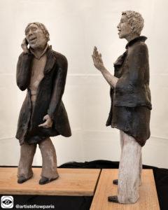 巴黎当代年轻艺术家Carmen WARCHOL 雕塑作品