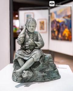 法国雕塑家Marie Thérèse PEREZ作品《消失的宁静》解析